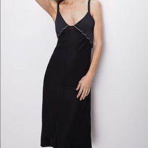 ZARA Black Camisole Tank Dress Size Small